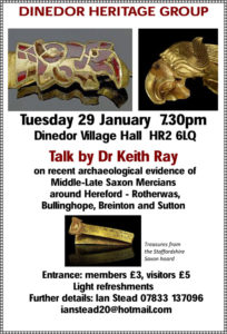 Read more about the article 29th January: Dinedor Heritage Group