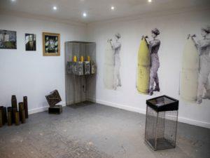 Canary Girls inspire Artist Lin Matthias